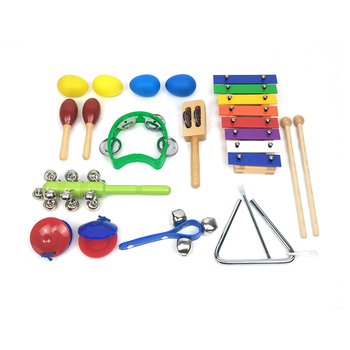 Music toys for baby 0-3 years old Kids wooden educational toys music instrument gift set for sale kindergarten