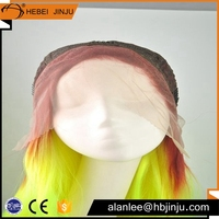 js and company how shine synthetic hair ombre full lace wig for cosplay