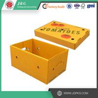 Wholesale tomato box fruit carton box vegetable packaging box