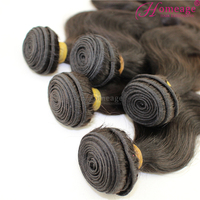 Homeage 8-30 inches body wave unprocessed virgin brazilian hair wholesale supplier in China