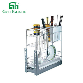 Kitchen Metal Fashionable High Quality Stainless Wire Basket