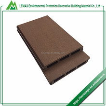 Volume manufacture Quality Assurance ex-factory price hollow composite decking end caps wpc hollow board