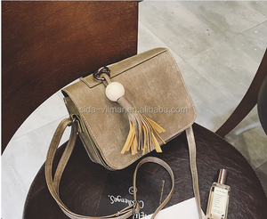 New classic style tassel Crossbody Bags High quality women shoulder bag women handbags brands