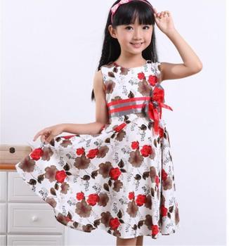 children clothes vestidos girls christmas dress girls summer birthday party flower princess dress bestdress