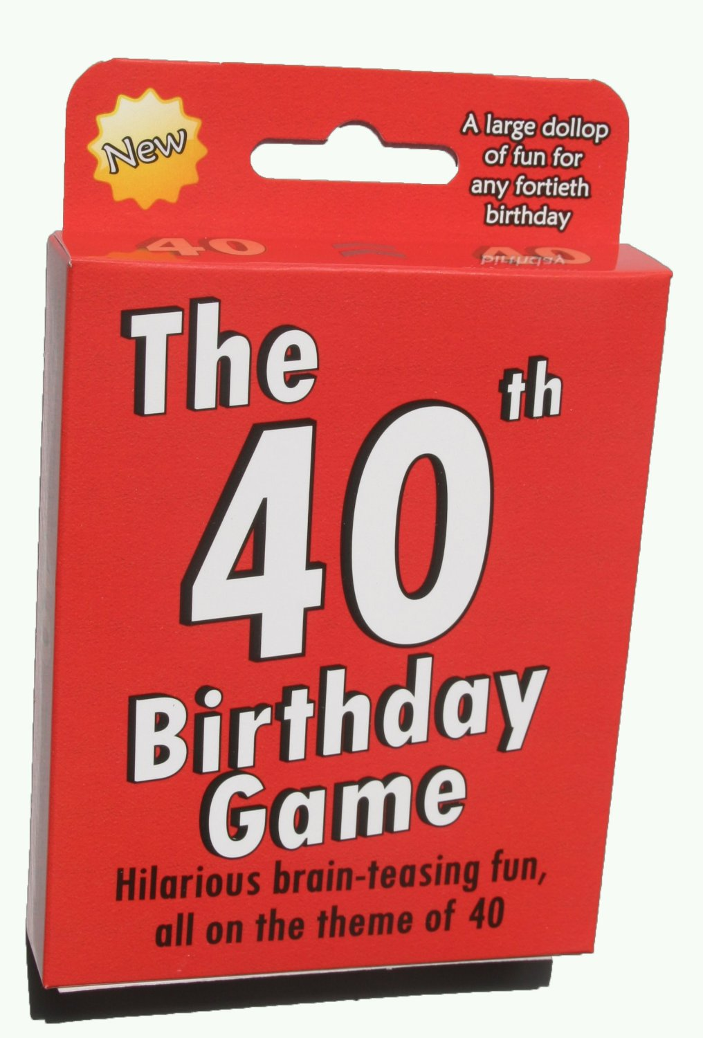 Buy The 40th Birthday Game Fun New Gift Or Party Idea Specially Designed For People Turning Forty In Cheap Price On Malibaba