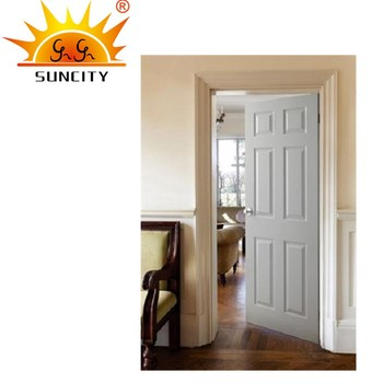 SC W137 New Design Wooden Door For Bedroom Modern Model Of Wood