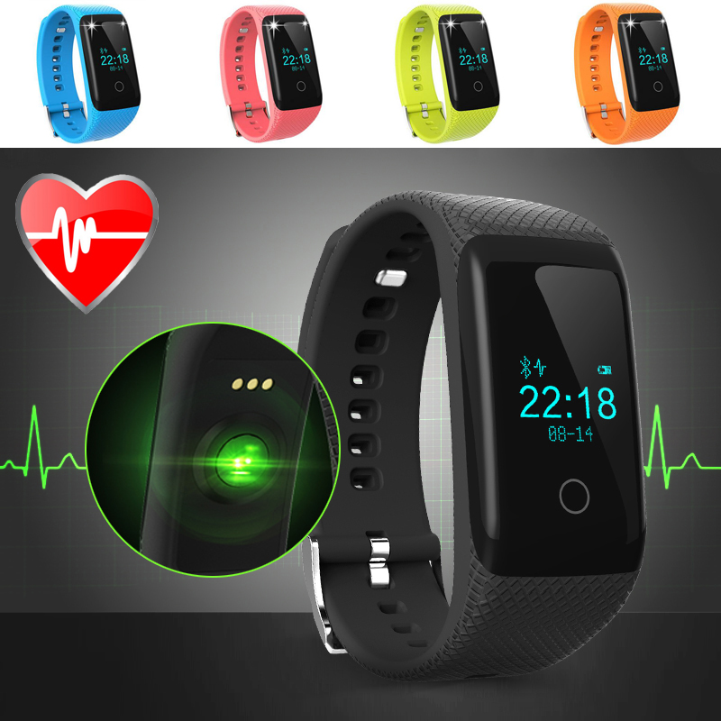Bluetooth Smart Watch Heartrate Monitor Touch Screen With Heart Rate Fitness