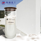 LR-6880 Elastic waterproof resin water based synthetic acrylic wall emulsion for exterior cement wall paints and coatings