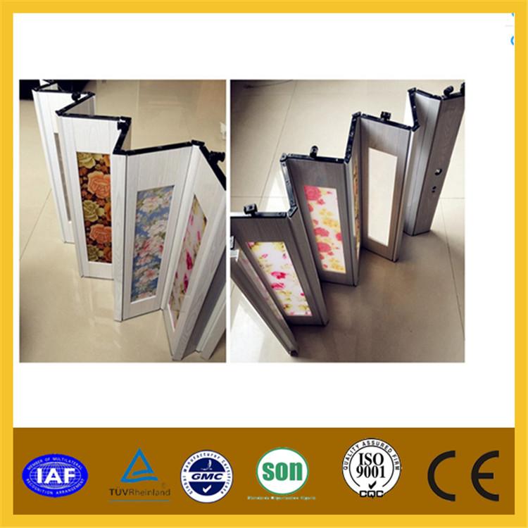 Estilo de vidrio pvc puerta plegable precio ba o pvc for Puertas interiores pvc precios