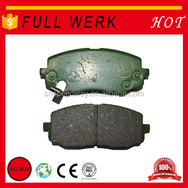 Hot sale FULL WERK top quality brake pad for sale