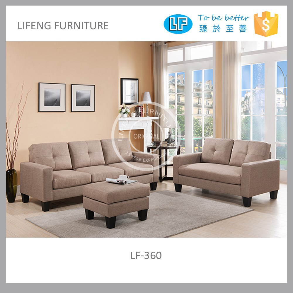 Cheapest Sofa Set: Cheap Fabric Sofa Sets For Small Apartment,Lf-360