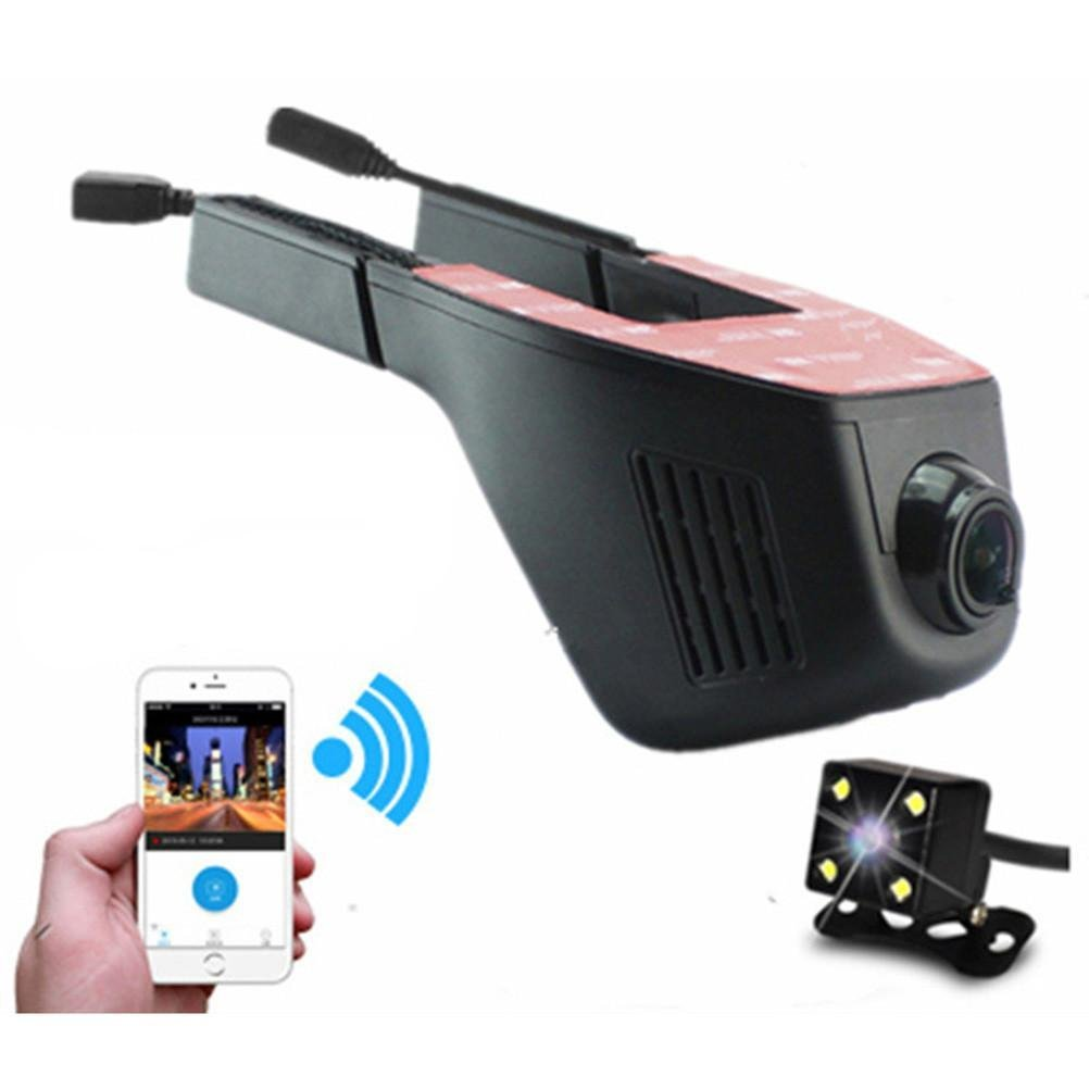 WIFI Car DVR Dash Camera Hidden Video Recorder with Full HD 1080P 170 Degree Wide Angle (WIFI Car DVR Dash Camera Hidden Video Recorder with Full HD 1080P 170 Degree Wide Angle)