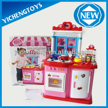Modern Kitchen Toy Set Diy Kids Plastic Play Kitchen Set Buy