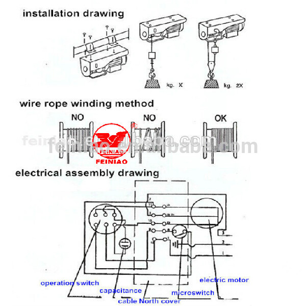 HTB1XSgRHXXXXXbcaFXXq6xXFXXX9 small wire rope hoist 220 230 volt electric winch construction  at crackthecode.co