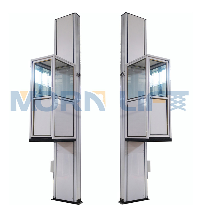 Small Hydraulic Indoor And Outdoor Home Lift Elevator Price - Buy ...