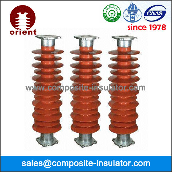 Composite Post insulators for high voltage overhead power transmission line