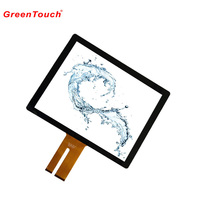 handwriting 15inch LCD industrial control touch panel in tablet