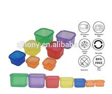 21 Day FIXBODY Portion Control Containers Color-Coded Labeled,Lose Weight System - 7 Pieces (COMPLETE GUIDE + 21 DAY PDF PLANNER