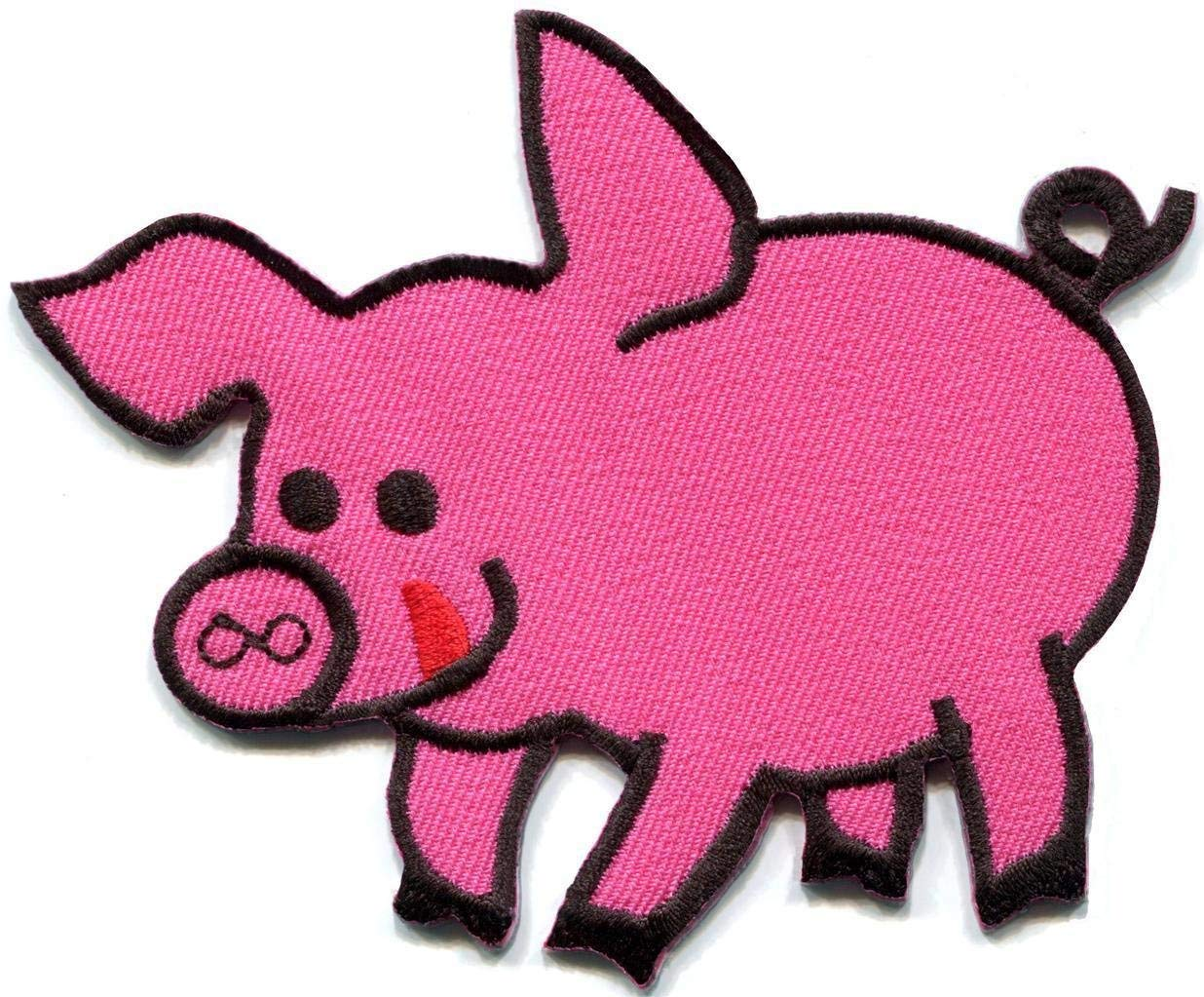 Cheap pig face iron on applique patch find pig face iron on