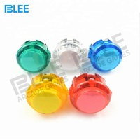 Factory Direct Price Sanwa Transparent Crystal Arcade Buttons
