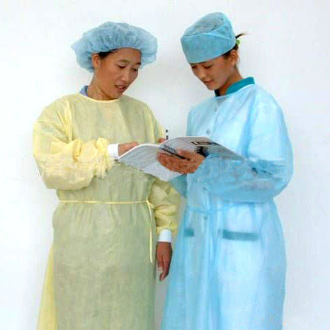 garments disposable gowns medical white surgical hospital gown