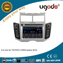 For Toyota Yaris 2005-2010 Android 4.4.4 car dvd gps navigation system