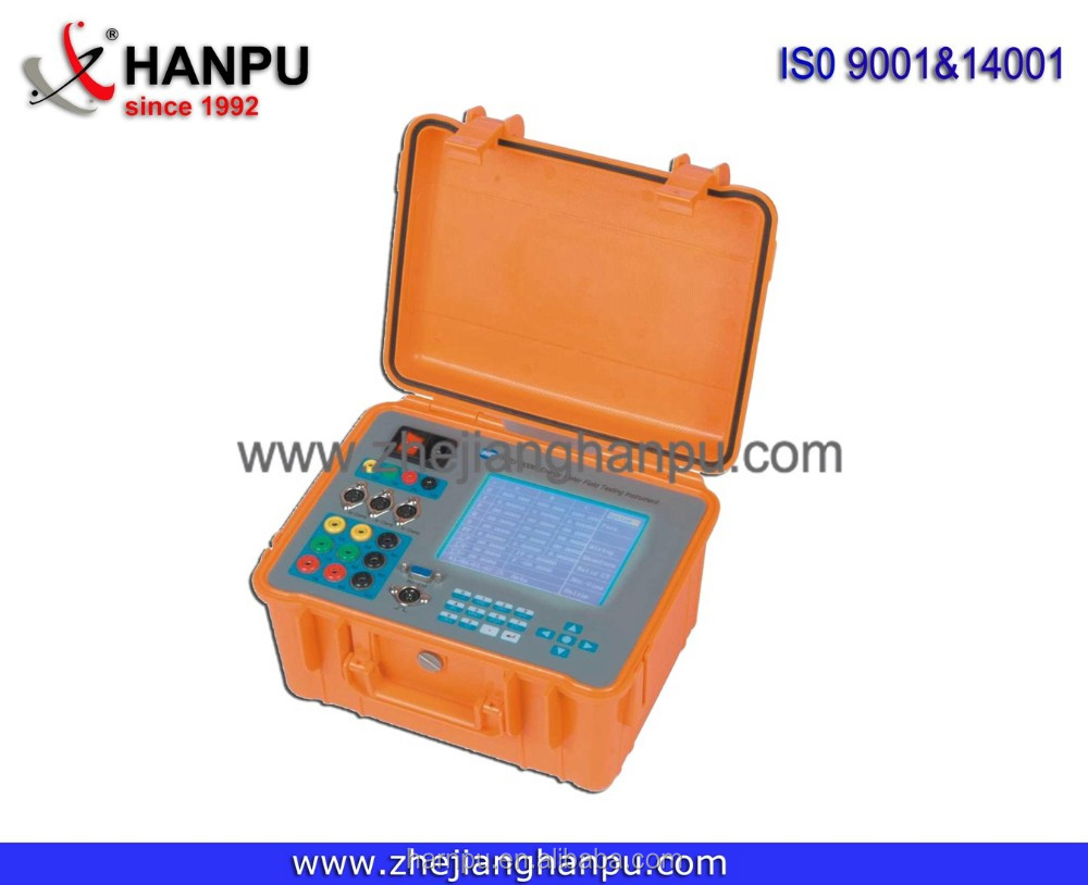 Three phase energy meter Field-testing Instrument HPU3006