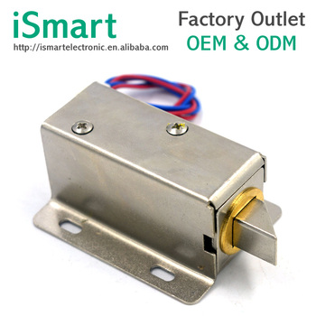 DC 12V High Performanec Small Size Solenoid Electromagnetic Electric Control Cabinet Drawer Lock Electric Solenoid Lock