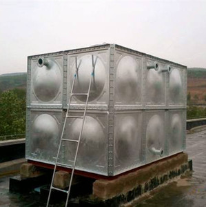 Square Water Storage Tank/panel tank -SS304 stainless steel water tank /drinking water tank.