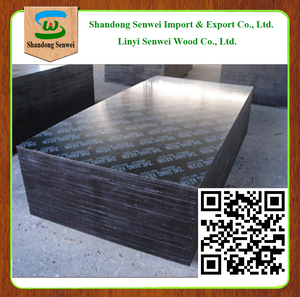 Linyi cheap construction materials/18mm film faced plywood