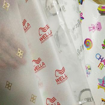 Üretici özel yüksek kaliteli ambalaj hediye kağıt kendi logo tasarımı ile OEM