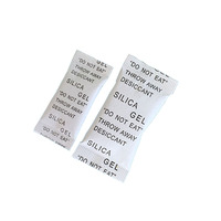 Industrial chemical with printing paper packed desiccant silica gel