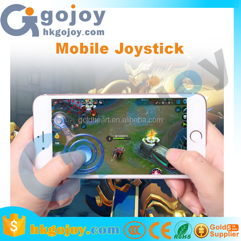 2017 New Design fling mini joystick for smart phone Joystick with Two Button and Sucker for iphone 7s
