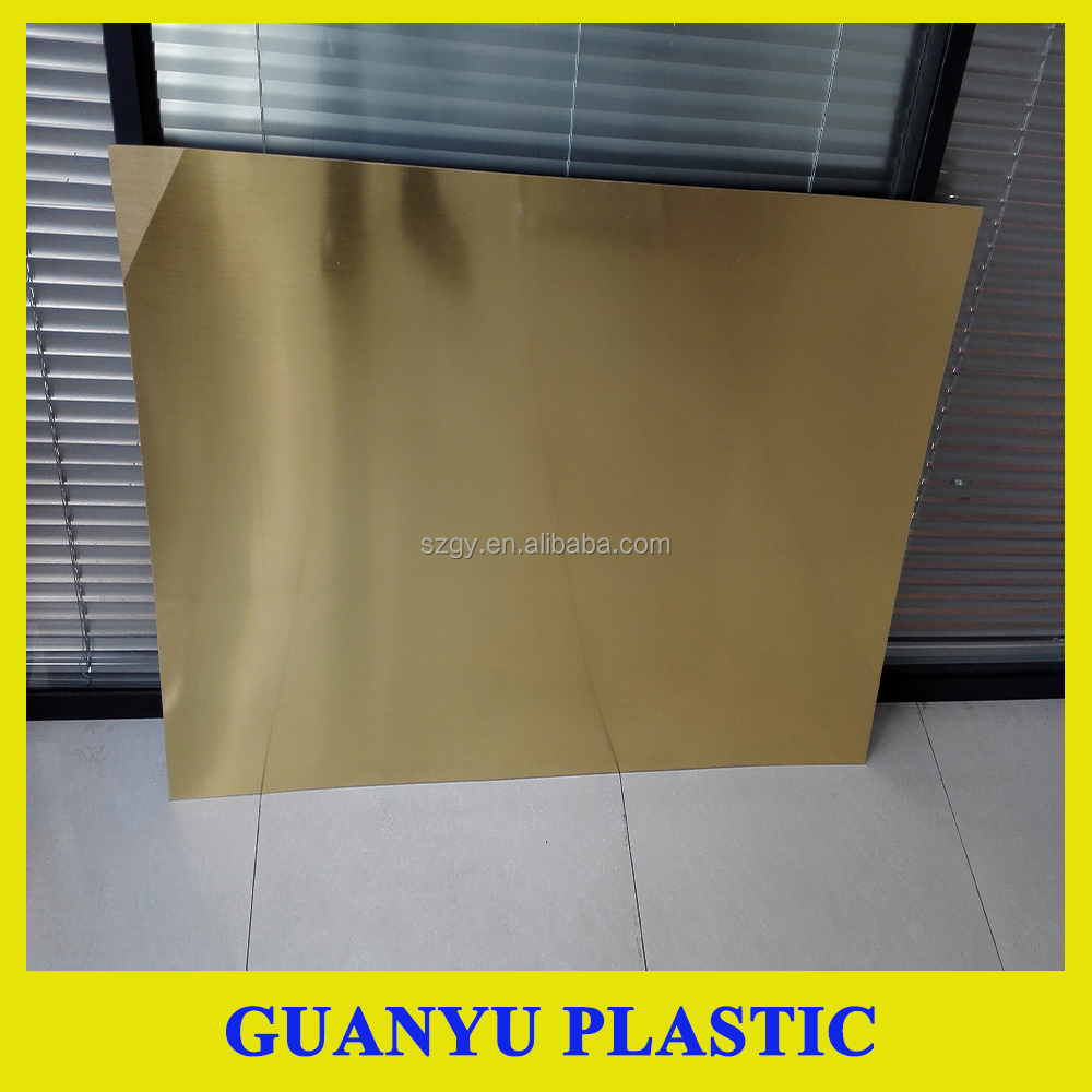 Golden Double Color ABS Plastic Sheet for Engraving, Double color ABS Plasict Sheet