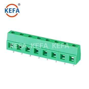 Connector Terminal Block With Rising Clamp Brass Cage - Buy Screw Clamp  Terminal Blocks,Screw Terminal Block Connector,7 5mm Pin Header Pcb  Terminal