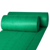 Xinluo Customized Disposable nonwoven 1m*100m green grass plastic carpet price