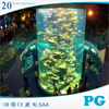 PG Large Cylindrical Acrylic Aquarium