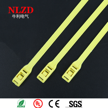 30b8859b66ee Specialty Cable Ties Yellow Color ZIp Tie,Tie Wrap In-line profile type