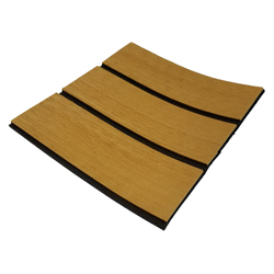 Melors 90in x 35in Non Skid Flooring EVA Soft Faux Teak Sheet Factory