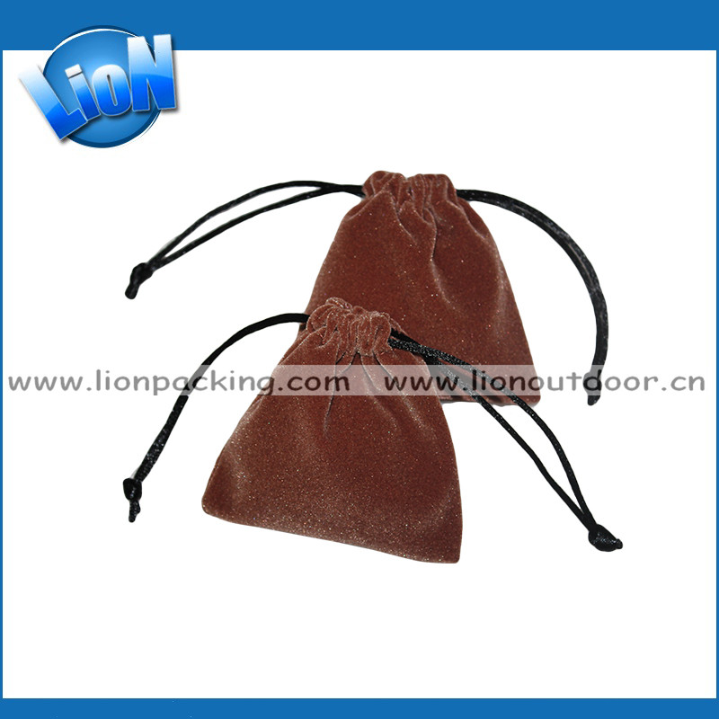 custom velvet drawstring pouch bag chinese jewelry bags