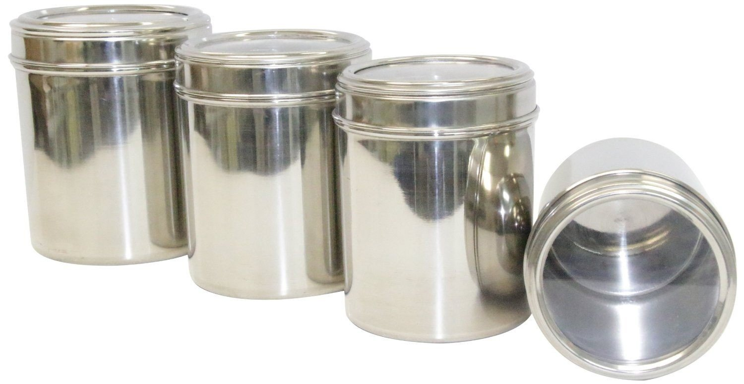 Buy Dynamic Store Stainless Steel Kitchen Storage Canisters Dabba
