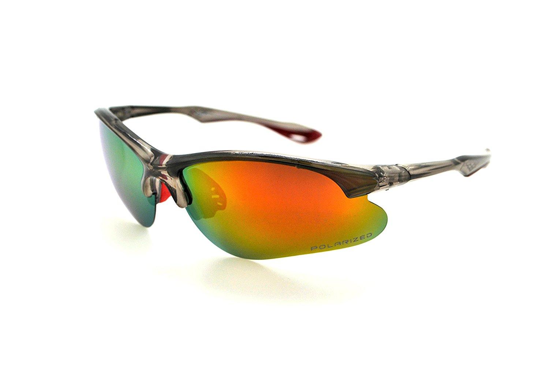 774359c4e5dc VertX Polarized Mens   Womens Sport Wrap Sunglasses Cycling Running w  Microfiber