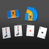 Casino Poker Cards Poker Club Waterproof PVC Plastic Playing Cards