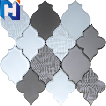 3d new shape mosaic floor tile Lantern mosaic tile bathroom