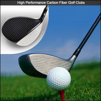 2016 New design Custom full carbon fiber golf shaft , super light real carbon fiber golf clubs