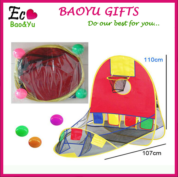 Portable Kids Tent Indoor And Outdoor Folding Children Toy Play Game Shooting Tent