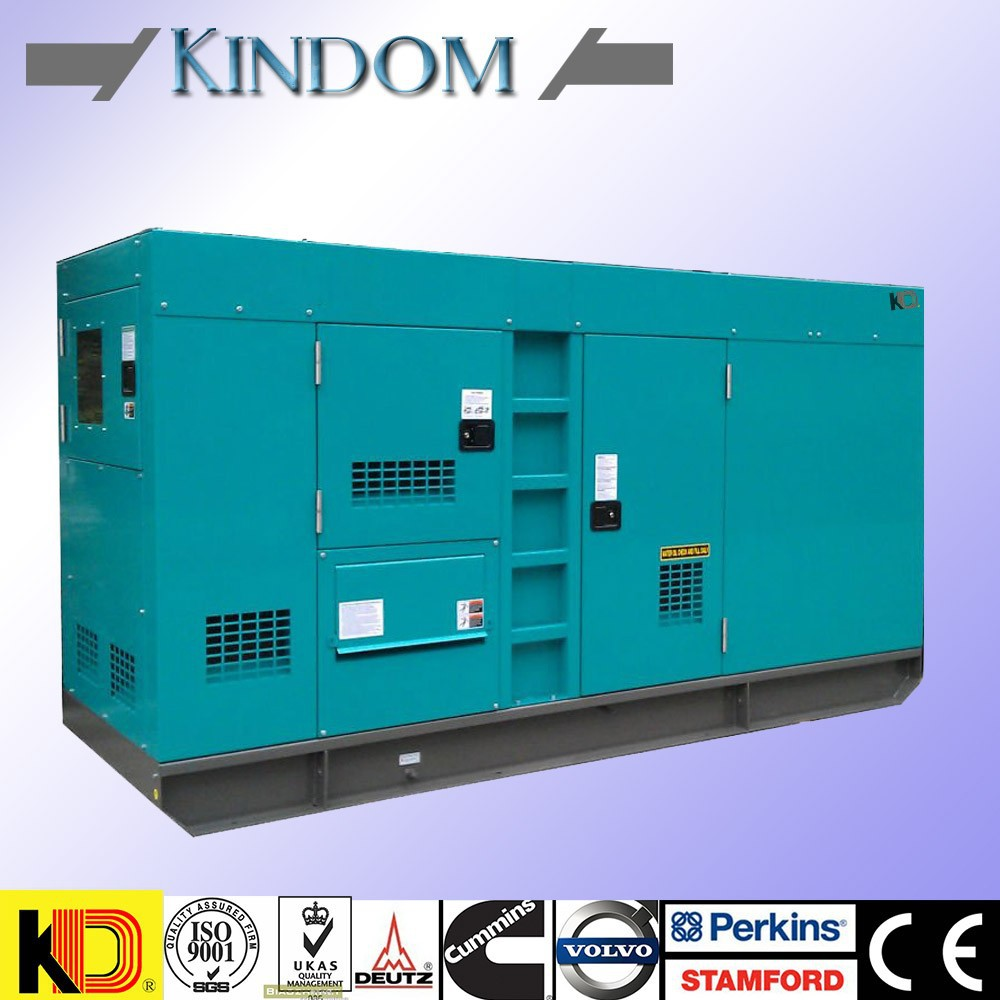 super silent diesel generator soundproof water cooled genset with cumming engine