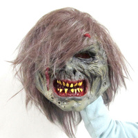 2016 canival realistic Awesome Mask Full Head latex Horror Mask for halloween