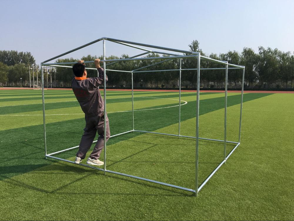 China Supplier ISO Outdoor Chain Link Dog Kennel / Dog Cages