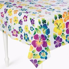 Rectangular Plastic Tablecover 54x 108 Solid Plastic Table Cover Birthday Wedding Party Supplies